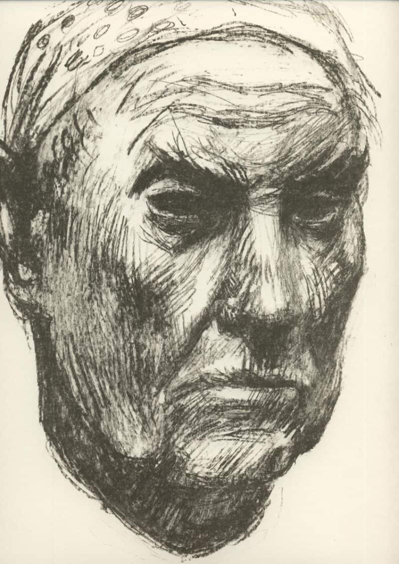 Karl Bauer - Selbstportrait