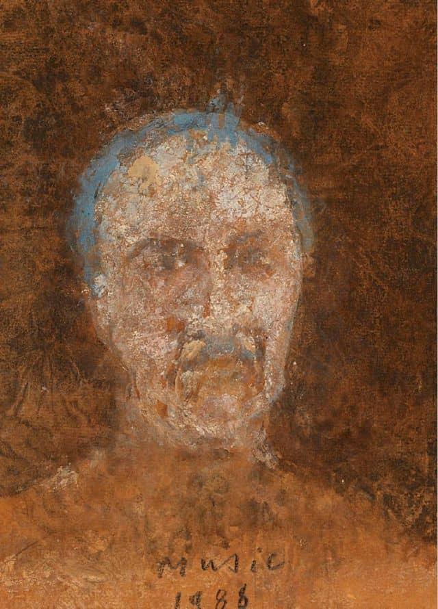 Zoran Music Selbstportrait 1988