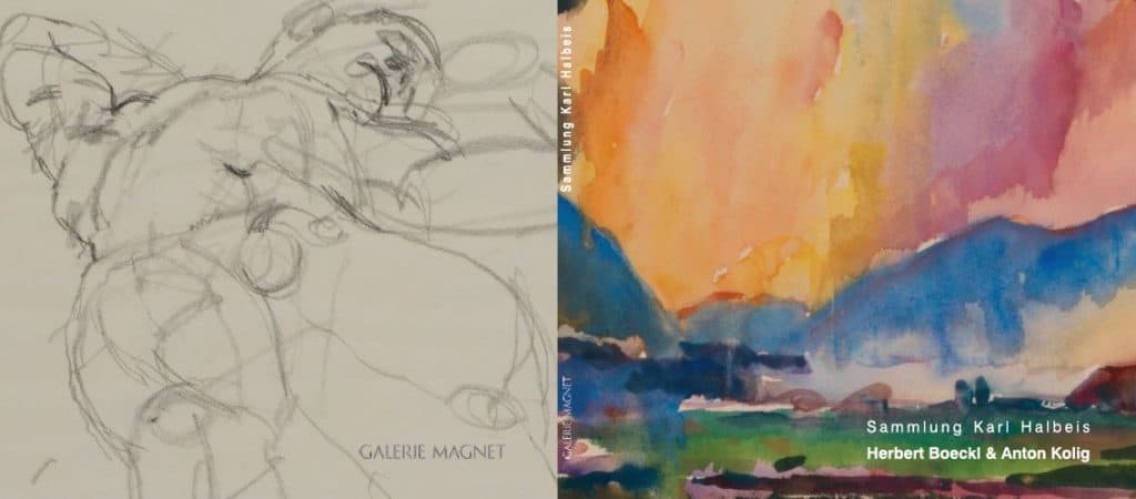 Deckblatt Herbstausstellung Galerie Magnet