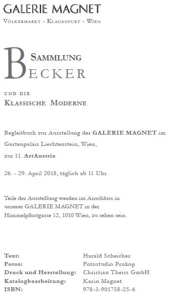 Spring exhibition at Galerie Magnet