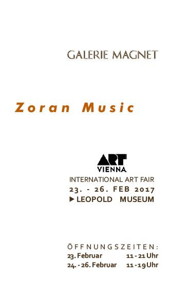 Zoran Music Catalogue of Galerie Magnet