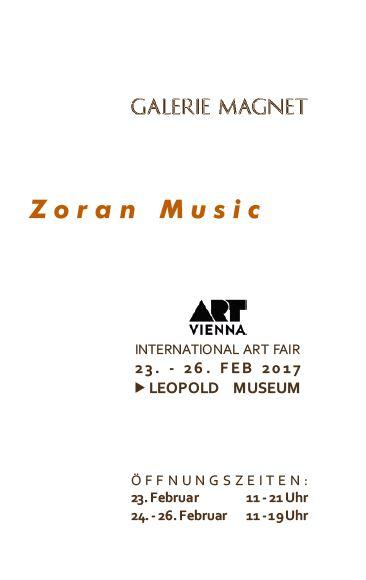 Zoran Music Katalog der Galerie Magnet