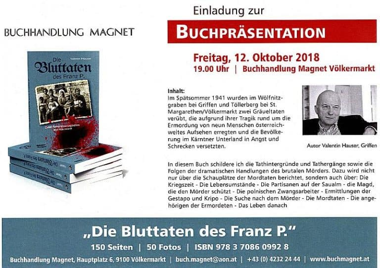 Buchpräsentation Galerie Magnet