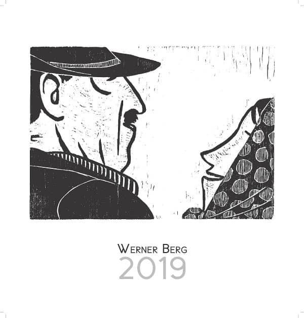 Werner Berg Kalender Titelseite 2019