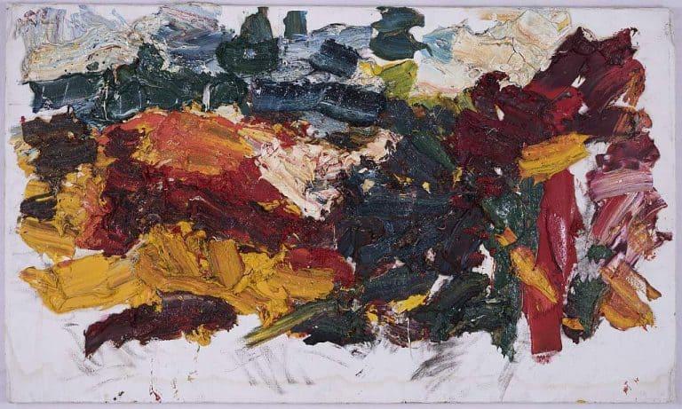 Franz Grabmayr, rote Felswand, 2008, 83x139cm