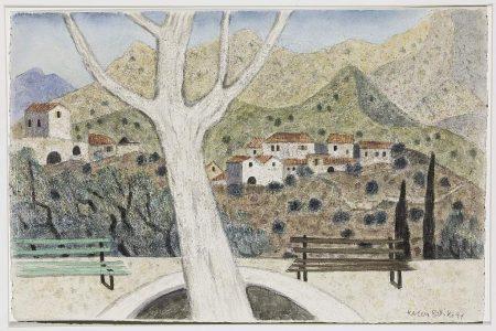 Herbert Breiter Dorf in der Mani