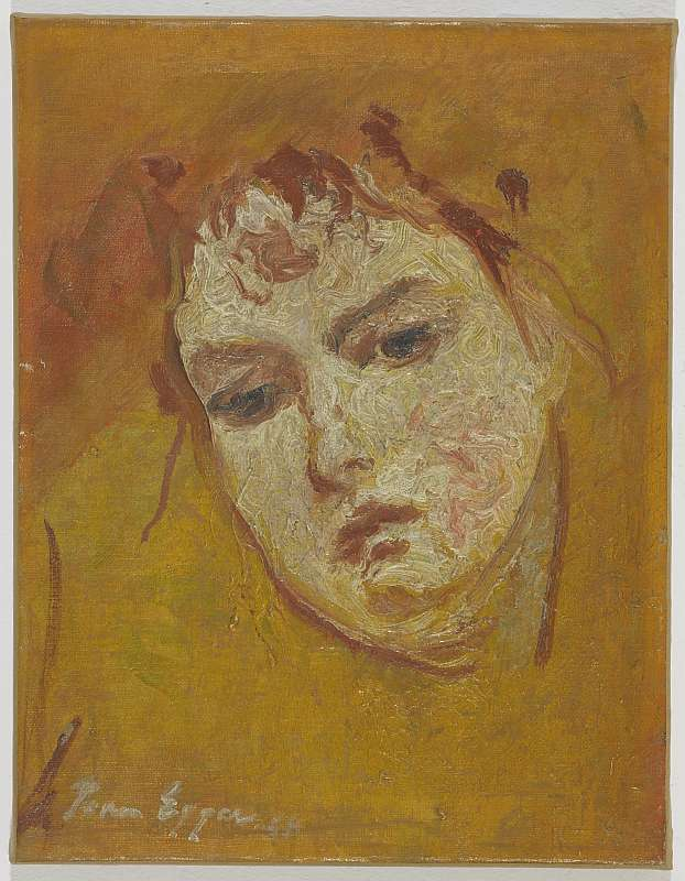 Jean Egger, Signe, 1926/29; Oil/LW ; 36 x 28 cm
