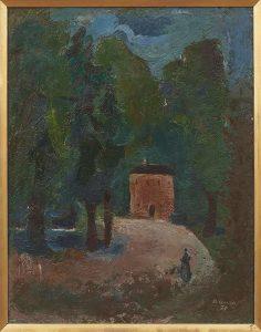 Karl Bauer, Haus im Wald, Magnet