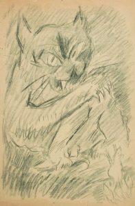 Sebastian Isepp, Fauchende Wildkatze
