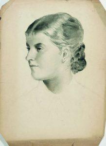 Sebastian Isepp, Mädchenportrait
