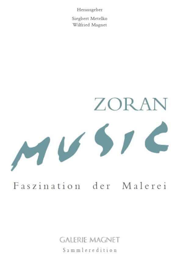 Zoran Music Buch von Galerie Magnet und Siegbert Metelko
