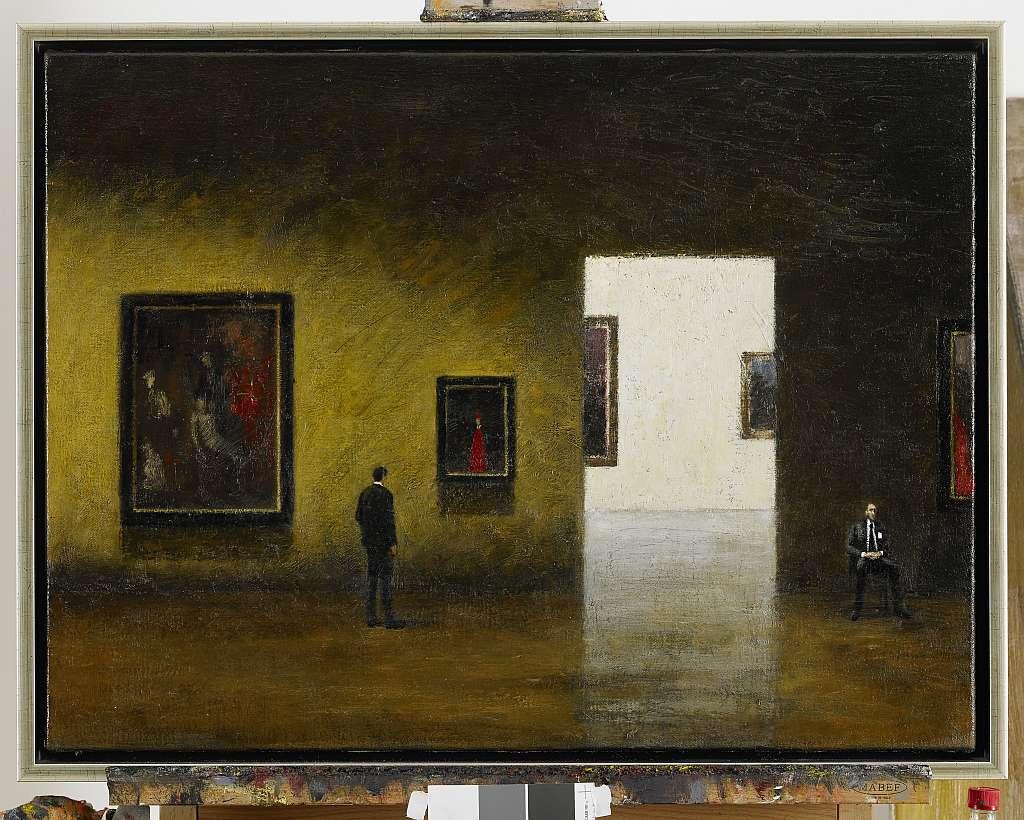 Gerald Thomaschütz, Im Museum