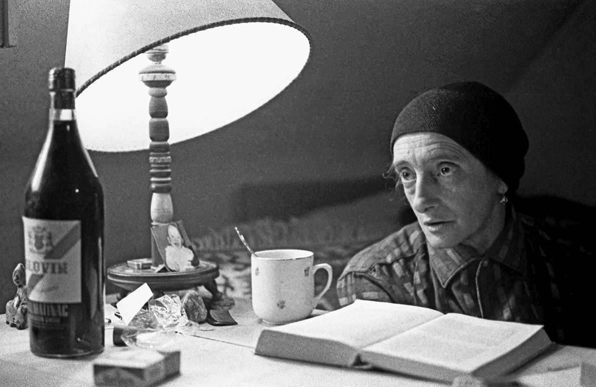 Ernst P. Prokop, Christine Lavant, 1963 in ihrer Wohnung in St. Stefan im Lavanttal