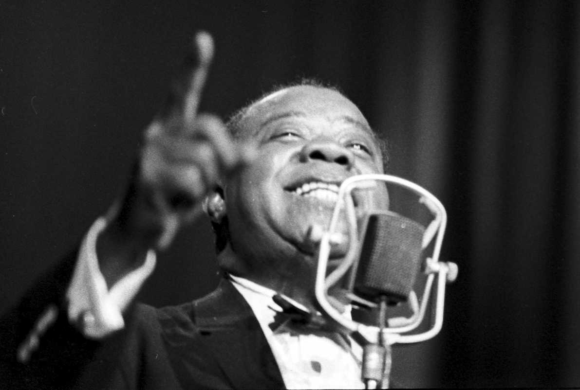 Ernst P. Prokop: Louis Armstrong, FineArtPrint Hahnemühle