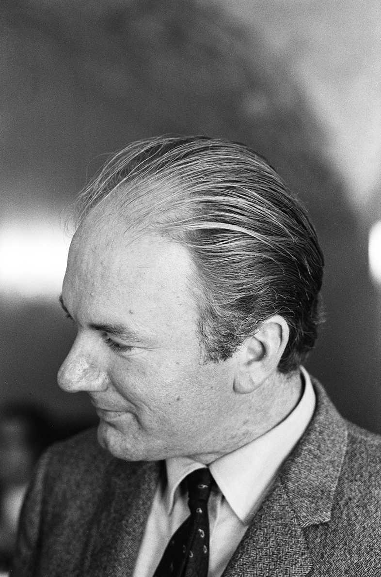 Ernst P. Prokop, Thomas Bernhard, Fineartprint, 43x30cm, signiert