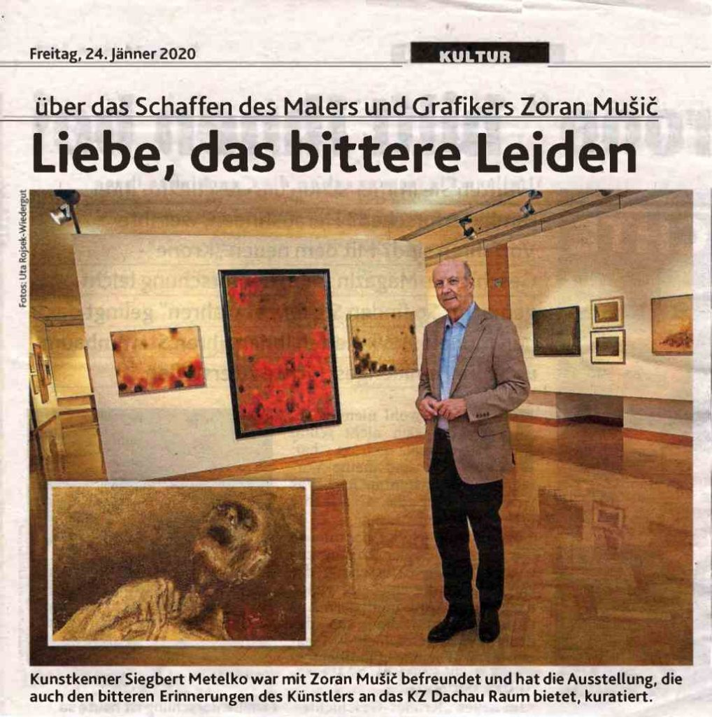 Kronen Zeitung Article Music with Siegbert Metelko