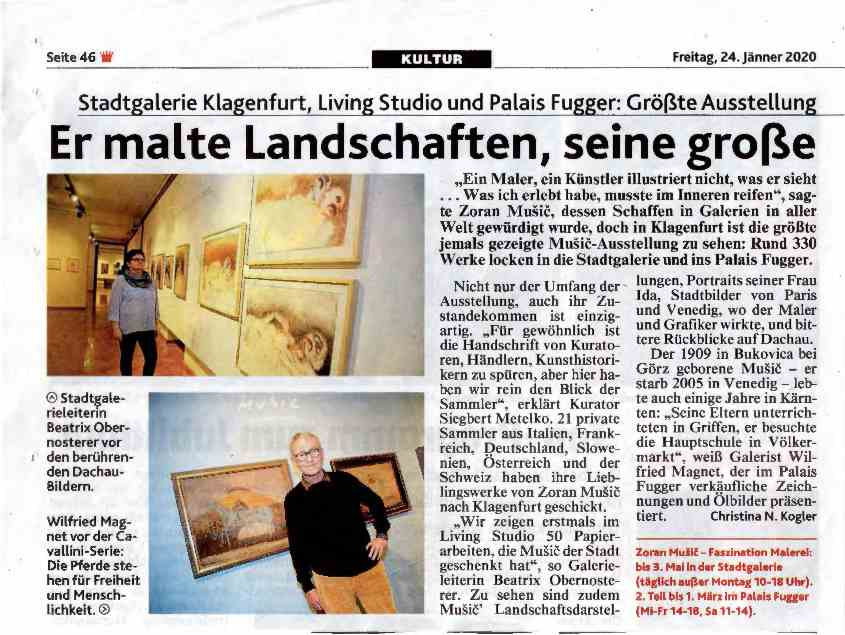 Kronen Zeitung Article Music