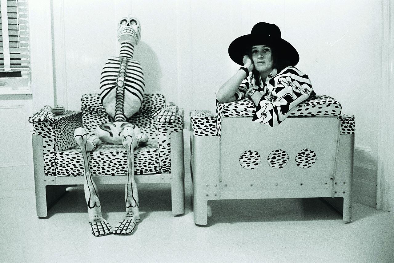 Michael Horowitz, Kiki Kogelnik, 1969, NY, Pigmentdruck auf Hahnemühle FINEART, 30x40cm
