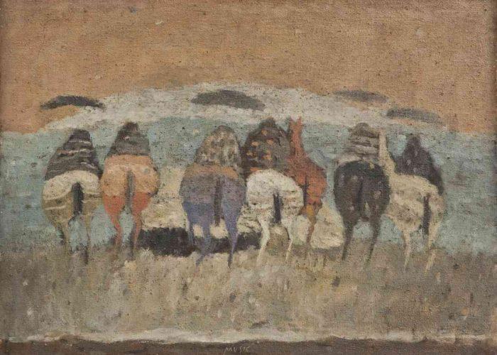 Zoran Music Cavalli che vanno via, 1951