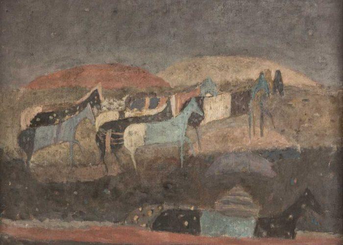 Zoran Music, Motivo dalmata, 1951